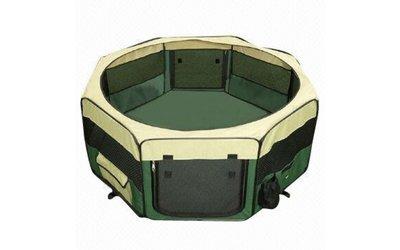 Puppyren Nylon Groen M (8x50 - 60 H)
