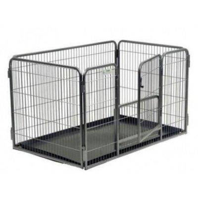 Puppyren Recht + Uitneembaar Onderdeurtje XL 410/90H