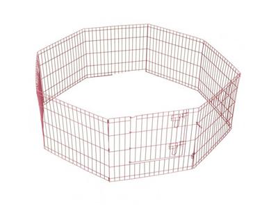 Puppyren Roze Uitvouwbaar M (560x60 cm)
