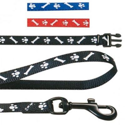 Puppy Halsband + Looplijn (10 mm) · Diverse Kleuren