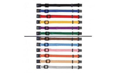 Puppyhalsbandjes Assorti - 6 Kleuren (17-25 cm)