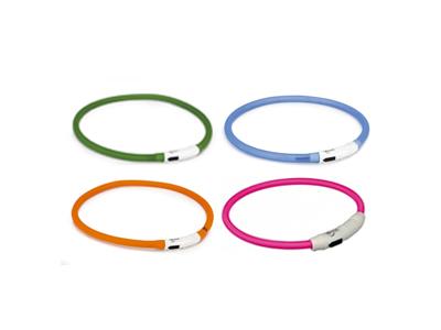 LED Halsband + USB Aansluiting