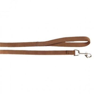 #Nylon Looplijn Bruin (100 cm - 10 mm)