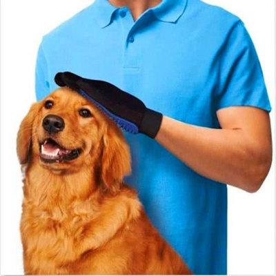 Borstel en Verzorgings-handschoen