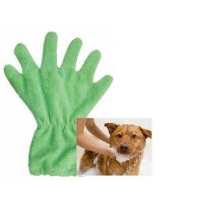 Washandschoen voor Honden