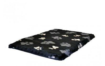 Benchkussen teddybont zwart voetprint benchkoning.nl benchkoning
