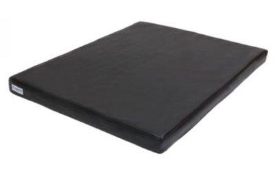 Benchkussen leatherlook zwart benchkoning benchkoning