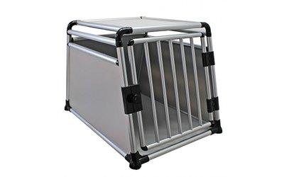 Transportbox Enkel Aluminium (91 cm)