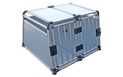 Transportbox Dubbeldeurs Aluminium (96 cm)